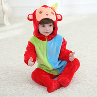 Hooded Baby Boy Girl Clothes Long Sleeve Autumn Winter Baby Rompers Next Clothes Infantil Halloween Costume