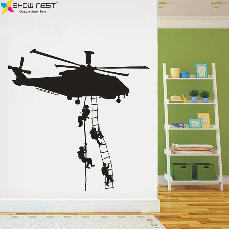 Achetez en Gros hélicoptère stickers muraux en Ligne à des