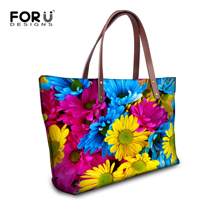 FORUDESIGNS Floral mujeres  Bags mujeres  bandoleras bolsos bolso marca famosa