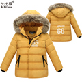 parkas for girls winter children winter coat boy black long jacket children for boy children clothing fur windbreaker jacket