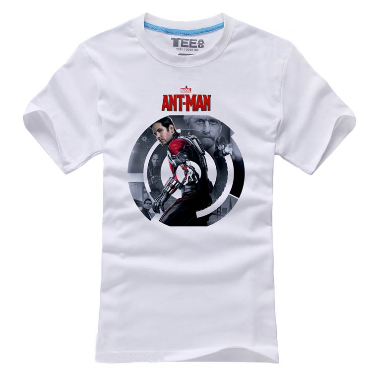 2015 Movie Ant font b Man b font T font b shirt b font Antman Superhero