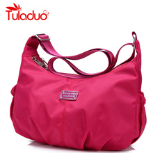 Women Crossbody Hobos Bag Ladies Nylon Handbag Travel Casual Bag Leisure Fashion Original Bags Bolsos Mujer Brand Bag Purse