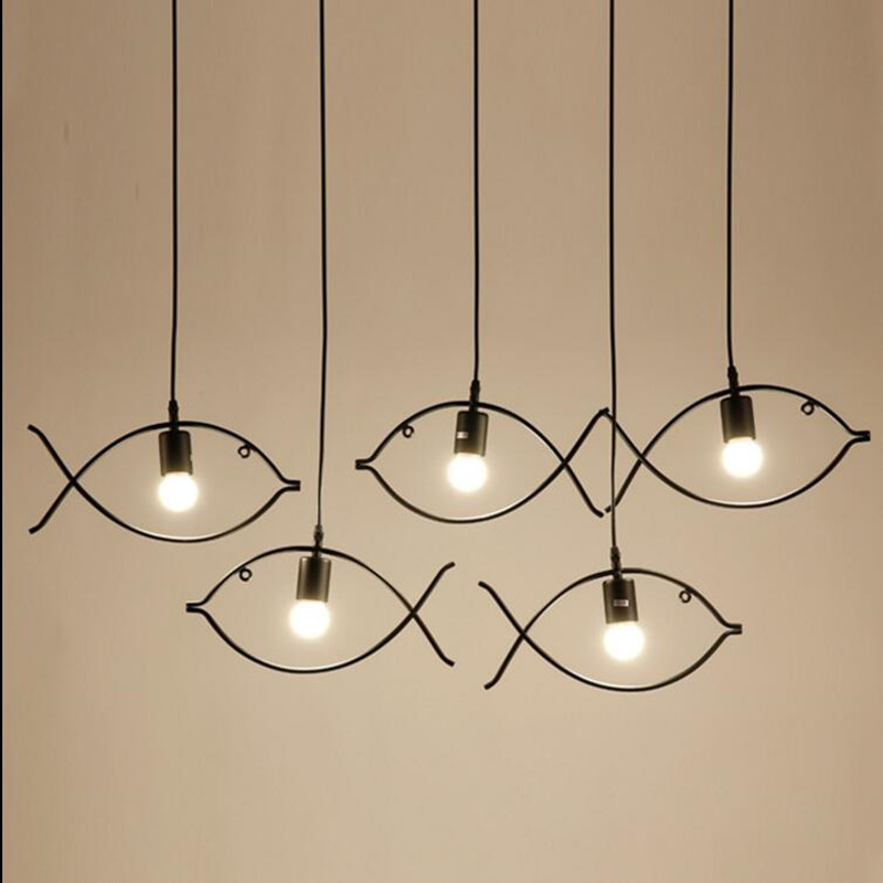 Vintage Pendant Lamp Led Metal Indoor Lighting Style Iron Light Fixture Bar Clical Chandelier Decoration In Lights From