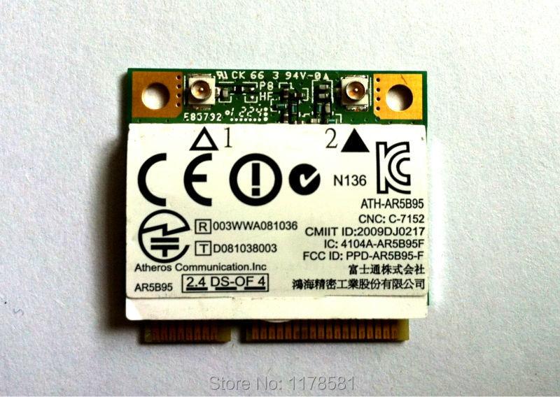 Atheros AR5B95 ATH AR5B95 802 11B/G/N 150 Mbps Half Mini PCI