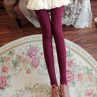 Free Shipping New 100D Rabbit Cashmere Stockings 6 Colors Women Autumn Winter Warm Wool Solid Tights