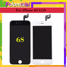 цена на 10pcs/lot Display For Apple iphone 6 6G iphone 6S LCD Screen Pantalla monitor Display Touch Screen Digitizer LCD Replacement