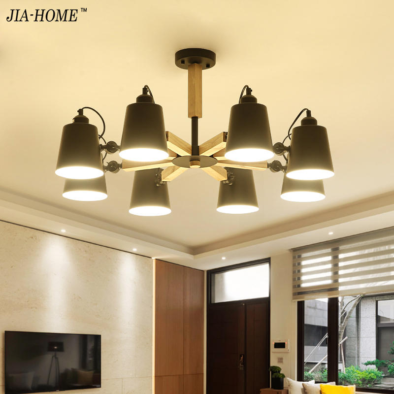 New Chandeliers Lights Lamparas De Techo lustre Luminaria Abajur 3/6/8 Lamps Home Lighting De Techo Plafond Abajur цена