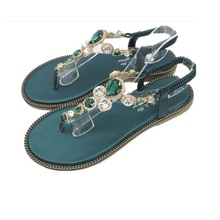 NEW fashion women sandal shoes slippers sandalias zapatos mujer shoes flower charm shoe buckle decoration free shipping