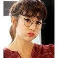 2016 New Retro Round Eye Glasses Frame For Women optical Computer gafas oculos de grau Female Eyeglasses Ladies Eyewear Frames