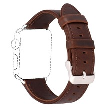 Genuine Leather Bracelet Watch Strap For Iwatch Apple Watch Band 38mm 42mm Series 3/2/1