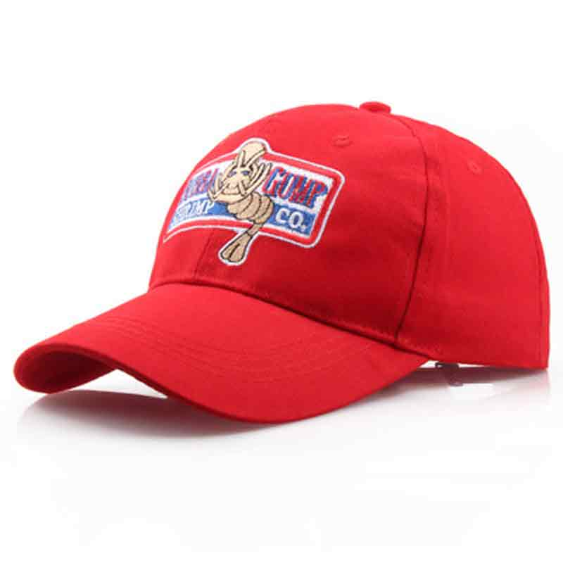 New BUBBA GUMP Cap SHRIMP CO Truck Baseball Cap unisex Snapback Caps Hat Forrest Gump Hat outdoor sports hats casual caps new unisex washed canvas outdoor baseball cap rock embroidery dad hat fashion sports hats for men