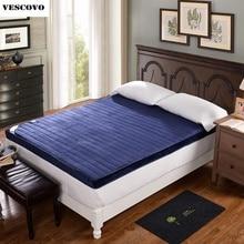 Flannel winter mattress folding velvet mattress sleeping mat tatami foam mats student dormitory bed