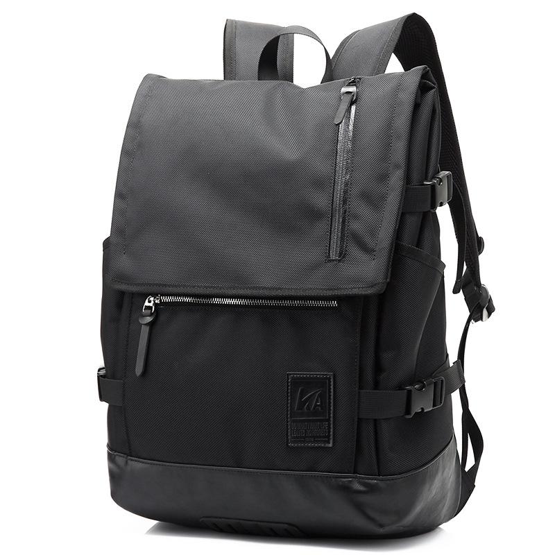 College Style Mens Famous Brand Double Shoulder Bags Waterproof Nylon Laptop Backpack Simple Travel Oxford Backpacks Men 2017 fashion women waterproof oxford backpack famous designers brand shoulder bag leisure backpack for girl and college student