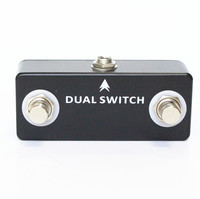 Electric Guitar MOSKY DUAL SWITCH Dual Footswitch Foot Switch Pedal Full Metal Shell