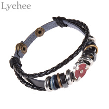 Naruto Synthetic Leather Bracelet Red Sharingan (2 colors)