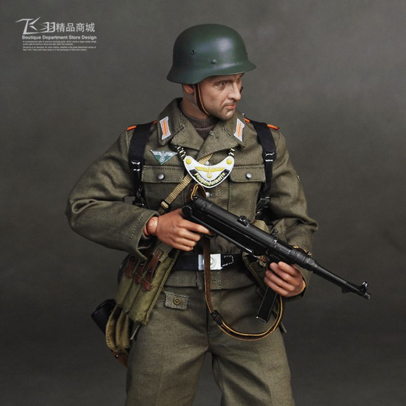 World War II German Gendarmerie ss 1/6 Soldiers Model 1945 SS054 world war 1