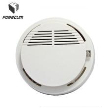 High Sensitivity Smoke Detector Fire Smoke Alarm Sensor Standalone Photoelectric Smoke Detector Security System For Home Kitchen