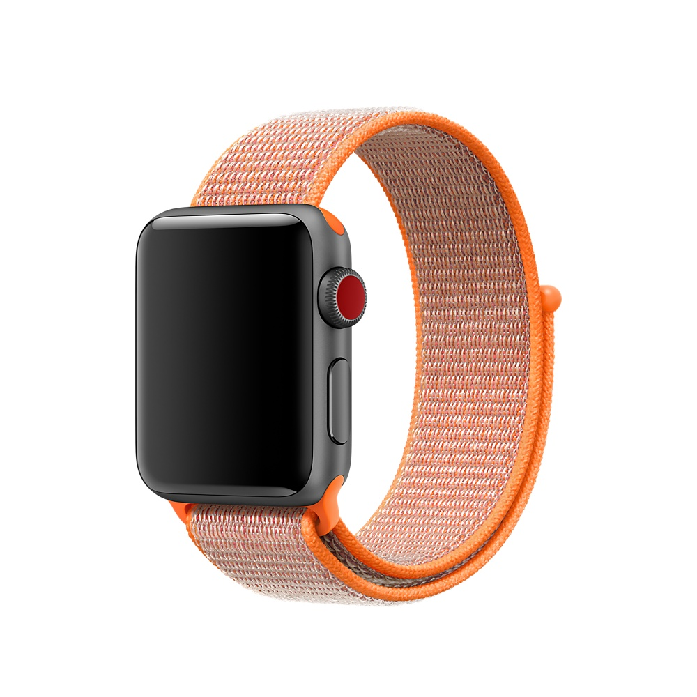 Купить с кэшбэком luxury Lightweight Breathable Nylon Sport Loop Band for Apple Watch Series 3 2 1 42MM 38MM for iWatch 123 watchband Sport Loop