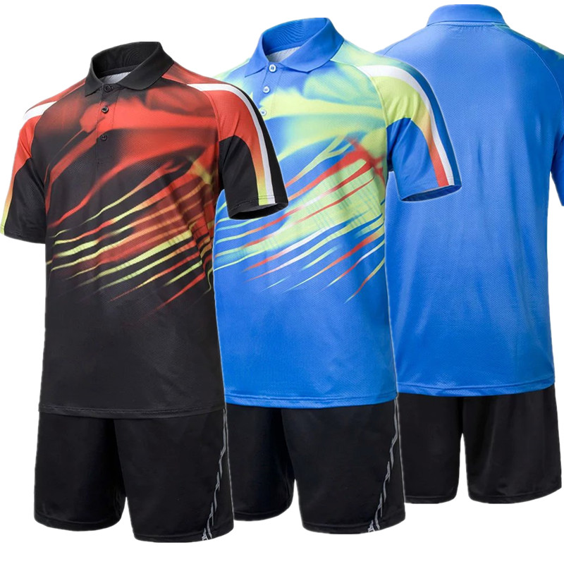 high quality table tennis clothing quick dry men badminton