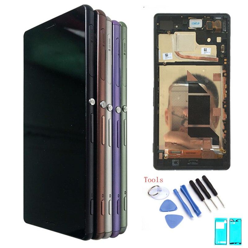 "5.2 Display LCD Para SONY Xperia Z3 ""Original Para Sony Z3 dual Screen Display LCD de Toque D6603 D6653 D6683 d6616 Substituição LCD"