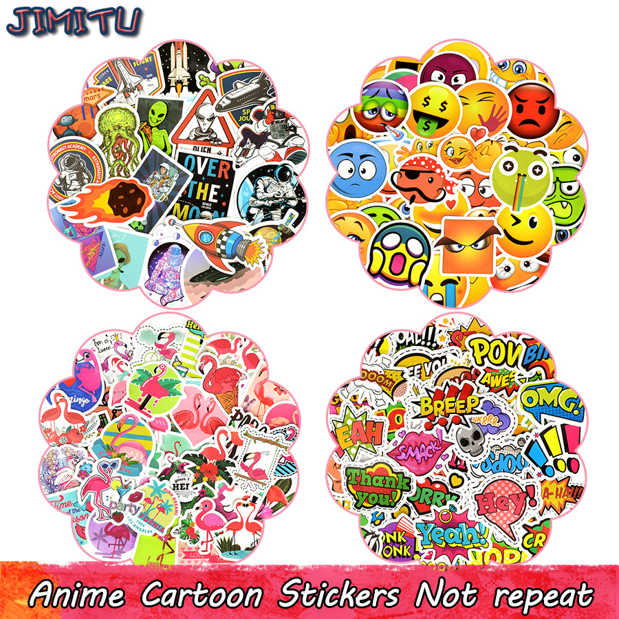 anime-sticker-toys-for-children-cartoon-aerospace-flamingos-emoji-funny-stickers-for-kids-diy-laptop-suitcase-scrapbooking-bike