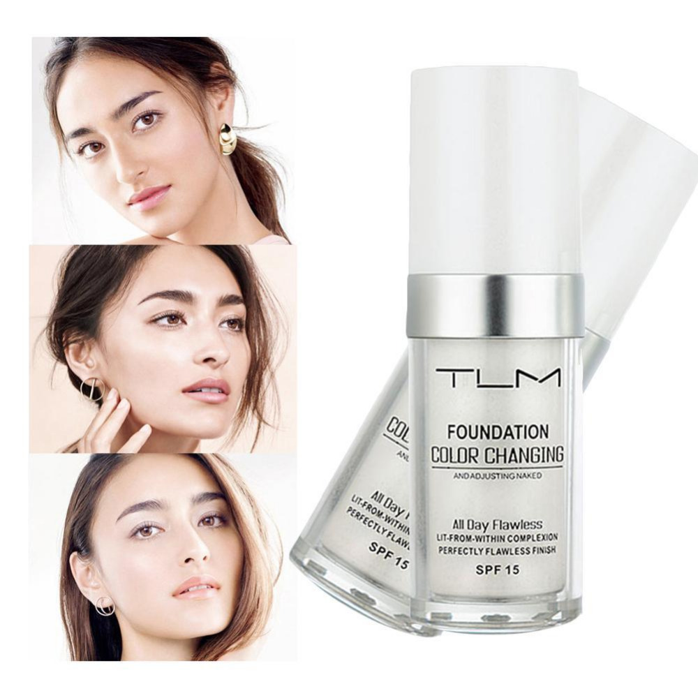 Color Changing Foundation Makeup Base Nude Face Liquid
