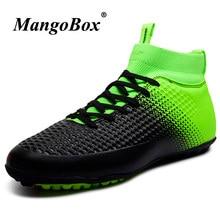 Zapatos 2018 hombres gran tamaño 33-46 botas de fútbol de interior ligero  de fútbol calzado para niños entrenadores 9e2727eb4abe4