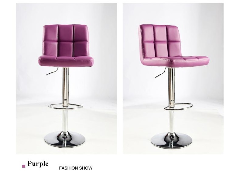 purple color living room chair change shoes stool furniture chair stool design customiza ...