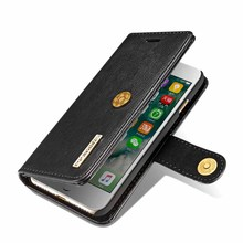 DG.MING Flip Case for iphone 6 6s 7 8 Plus PU leather Wallet Case Luxury Card Holder Stand Phone Case Cover for iphone X 10