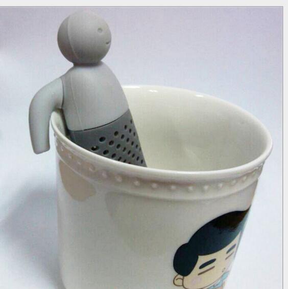 Blatt Tee für Brau Mr wenig mann tee sieb Silikon Tee taschen tee, der gerät 200 teil/los Großhandel-in Teesiebe aus Heim und Garten bei  Gruppe 3