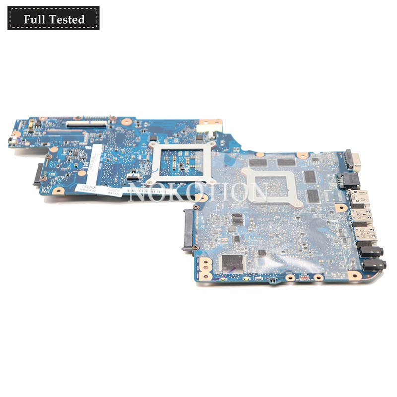 motherboard graphics H000038410 For toshiba satellite C850 Laptop motherboard HD4000 ATI HD7600M Graphics HM77 DDR3 (2)