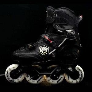 Image 2 - 100% Original 2019 SEBA KSJ2 Adult Inline Skates Roller Skating Shoes Rockered Frame Slalom Sliding FSK Patines Adulto