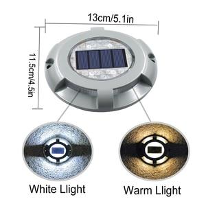 Image 3 - Solar LED Dock Path Deck Road Stud Maker Light Waterproof Security Lights Lamp Outdoor Driveway Pathway Yard  Garden Step Lamp