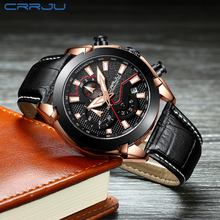 Elegant Watch Men Top Brand Luxury Analog sports Wristwatch Men's Leather Watches Luminous And Waterproof Male Clock With Chrono