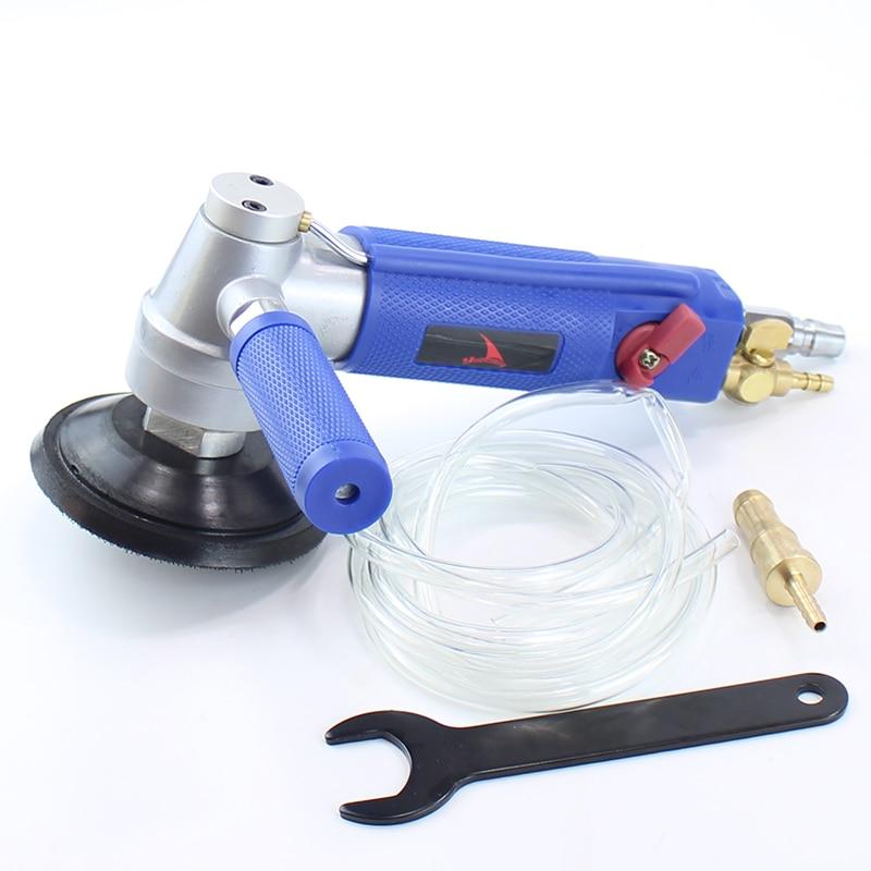 """YOUSAILING 3 """"nebo 4"""" vodní bruska Profesionální pneumatická vodní bruska Air Wet Sander Marble Lešticí stroje"""