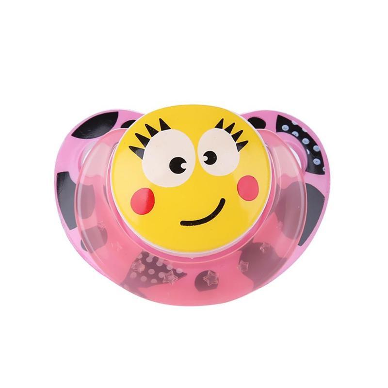 Милая портативная детская Силиконовая пустышка для новорожденных забавная Соска-пустышка анти-Пылезащитная крышка безопасный грызунок для младенцев инструмент для кормления
