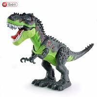Wiben Electronic Dinosaur Toy Flashing Walking Sounding Dinosaurs Model Tyrannosaurus Classic Model Toys Boys Gifts