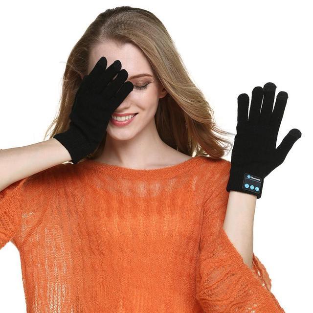 Jaycosin mittens christmas Bluetooth Gloves for Winter Knit Warm Mittens gloves womenx27s Dec21