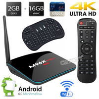 Android TV Box S905X Quad Core M96X Pro Smart TV Box 2G 16G Android 6 0