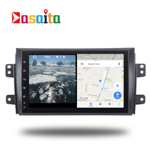 Car 1 din radio android 7.1 GPS Navi for Suzuki SX4 2006 -14 autoradio navigation head unit multimedia video play stereo 2Gb Ram
