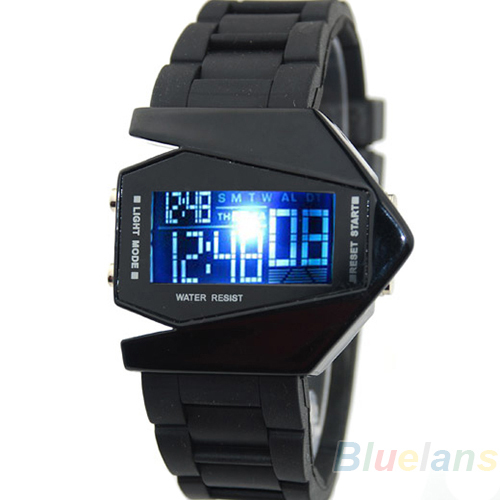 LED Display watches Digital men sports military Oversized  watch Back Light women Wristwatches Novelty Sale 02OJ 3AR7 pedometer heart rate monitor calories counter led digital sports watch fitness for men women outdoor military wristwatches
