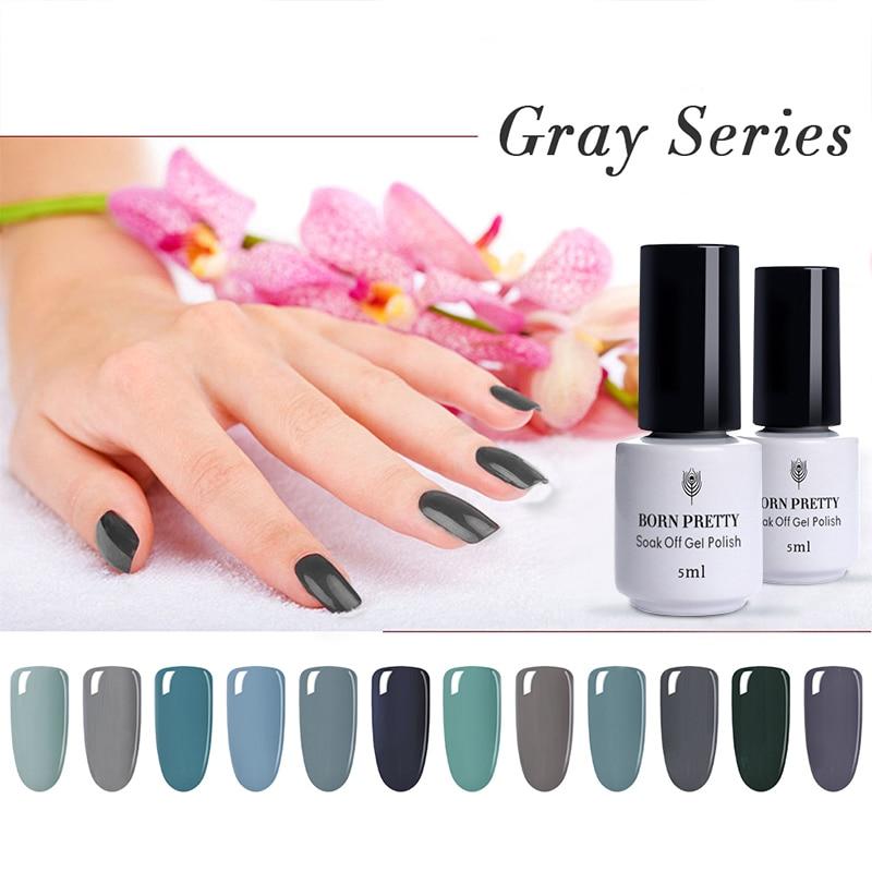 born pretty pure colors gel nail