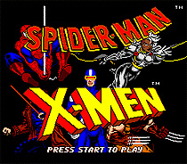Spider man X-men 16 bit MD Game Card For Sega Mega Drive For Genesis