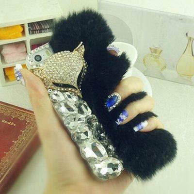 100-real-pele-de-coelho-caso-para-iphone-6-4-7-polegadas-cobrir-venda-quente-nova (3)