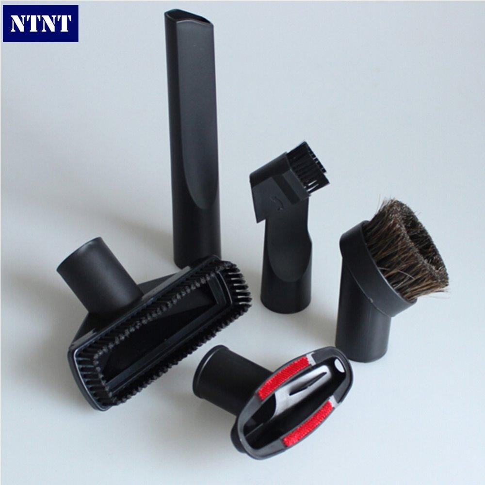 NTNT vacuum cleaner parts multifunction universal accessories small nozzle brush floor tools filter bag 32mm