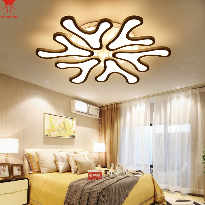 Acrylic thick Modern led ceiling lights for living room bedroom dining room home ceiling lamp lighting light fixtures modern led living room ceiling lamp acrylic ceiling lights creative bedroom dining room home lighting fixtures plafondlamp lumin