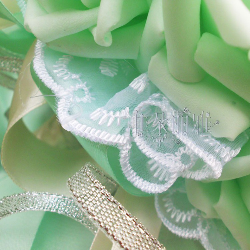 Купить с кэшбэком 2018 Woman Artificial Wedding Bouquets 30 Flowers Handmade Rose Bridal Gift Dried Wedding Photography Props Bridal Flowers 2018