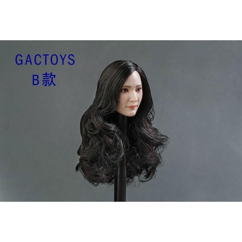 Headsculpt 1 6 Scale Asian Beauty Female Head Sculpt Carving GC014 A B C Three Models