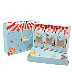 TINTHINGS Gift Box Cookie Bag Handle Candy Packaging