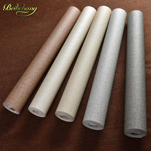 papel de parede,Straw modern vinyl wallpaper solid color embossed PVC classic wall paper bedroom textured  Waterproof